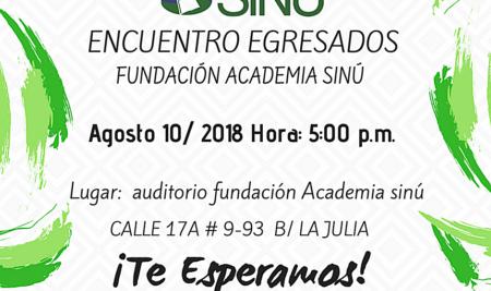 Encuentro egresados fundación Academia sinú